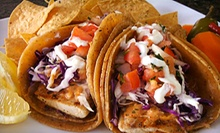 Mexican Food at La Torta Cafe (Half Off). Two Options Available. 