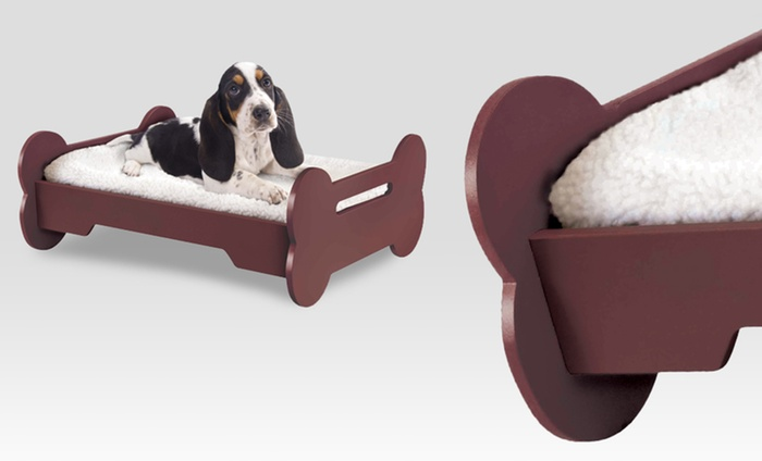 24 For A Bone Shaped Dog Bed Groupon