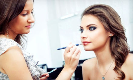 $55 for a Professional Makeup Application and Updo at Zarios Hair Salon ($110 Value)