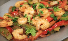 Fajitas and Drinks at Tukan Grill (Up to 51% Off). Three Options Available.