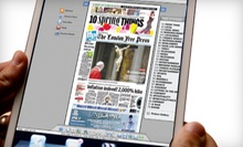 "C$25 for a One-Year ""London Free Press"" e-Edition Subscription (C$54.10 Value)"