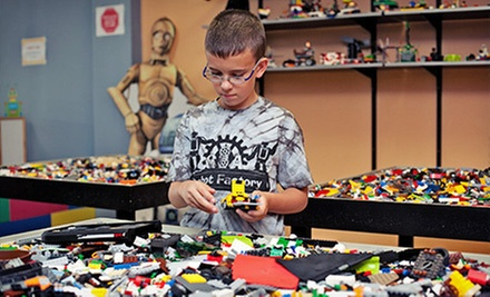 LEGO WeDo Robotics Project and Day-Play Entrance for One, Two, or Four at C&A Robot Factory (Up to 56% Off)