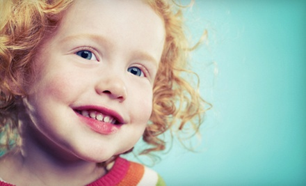 $20 for a Children's Exam with X-rays, Cleaning and Fluoride Treatment at Kids Care Dental Group ($272 Value)