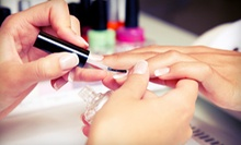 $29 for One Full-Set French Gel Manicure at Exquisite Beauty, Hair, Spa and Salon ($70 Value)