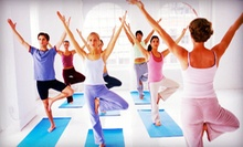 $35 for 10 Classes at East Meets West Yoga Center ($140 Value)