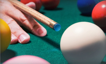 $15 for $30 Worth of Traditional American Bar Food and Billiards at Sneaky Pete Billiards