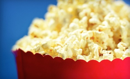Drive-In Movie and Popcorn for Two or Four at Field of Dreams Drive-In Theater (Half Off). Six Options Available.