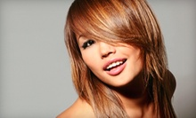 Haircut with Options for Full Color or Partial Highlights from Christine Miller at Maria Bella Salon (Up to 61% Off)