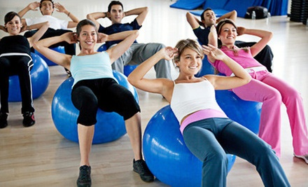 One or Two Months of Unlimited Group Fitness Training Sessions at Active Body Design (Up to 71% Off) 