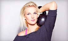 $69 for Three Private Kettlebell-Training Sessions from Downtown Fitness World ($300 Value)