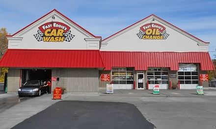 $23.99 for Oil Change and Wash at Fast Eddie's ($41.95 Value)