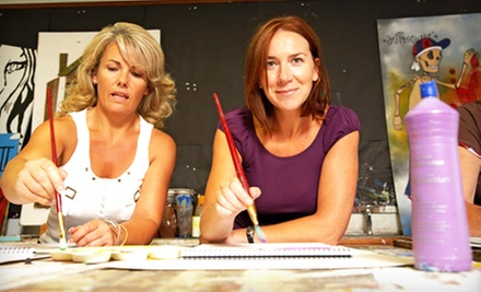 Catered Painting Class for Two, Four, or Six at Spirits and Bottega (Up to 57% Off)