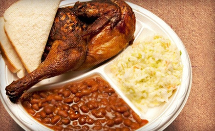 $6 for $12 Worth of Barbecue at Buckys BBQ in Fountain Inn or Lake Forest
