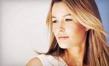Haircut and Style with Optional Partial or Full Highlights or All-Over Color at Beauty Hair Salon (Up to 64% Off)