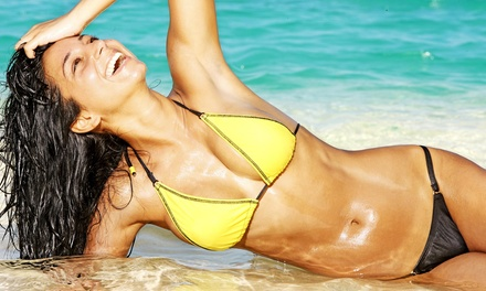 One or Two Brazilian Waxes at Hollywood Waxing Studio (Up to 54% Off)