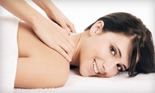 One or Three 60-Minute Massages at Clix Hair & Nails (Up to 63% Off)