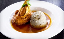 $27 for Three-Course Contemporary Indian Dinner for Two at Origin India (Up to $55.95 Value)