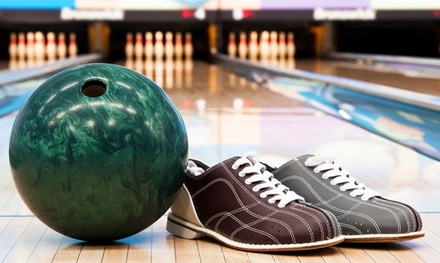 $30 for Four Hours of Bowling with Shoes for Up to Six at Pin Center Bowl ($60 Value)