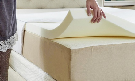 Therapeia 2 In. Memory Foam Mattress Toppers