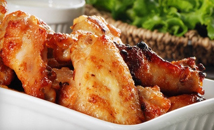 $15 for $30 Worth of Pub Food at Wally's Wicked Wings
