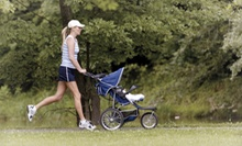 Five Weeks of Stroller Fitness Classes, or One or Four Personal-Training Sessions at Get Movin Momma (Up to 76% Off)