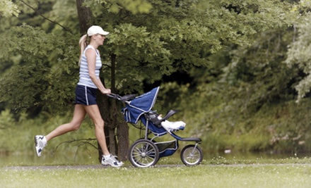 Five Weeks of Stroller Fitness Classes, or One or Four Personal-Training Sessions at Get Movin' Momma (Up to 76% Off)