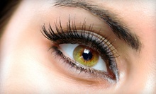 Full Set of Eyelash Extensions with Optional Follow-Up Filler Visit at Skin by Cyn (Half Off)