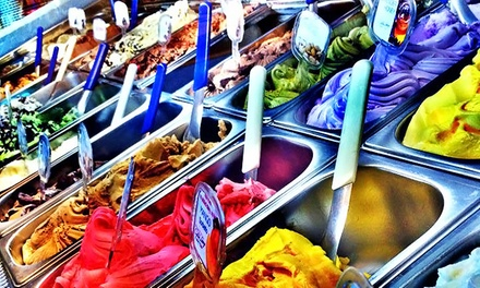 Six Large Gelatos or GelaDoughs, or $8 for $14 Worth of Gelato, and Drinks at Bonaventura Gelato Lounge