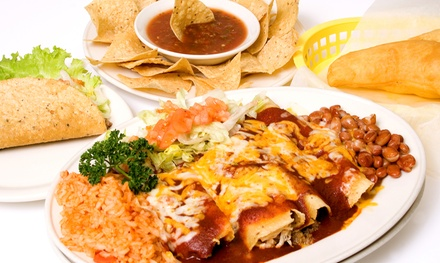 Mexican Food and Drinks for Takeout, Dinner, or Lunch at Chacho's (Up to 44% Off)