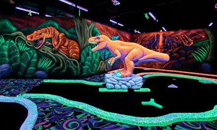 $20 for 2 Rounds of Mini Golf and 1 Hour of Unlimited Arcade Games for 2 at Fore! Family Fun ($40 Value)