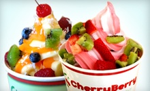 $10 for Two $10 Groupons for Frozen Yogurt at CherryBerry ($20 Value)