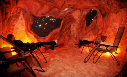 One, Three, or Five 45-Minute Salt-Cave Therapy Sessions at Elements (Up to 62% Off)