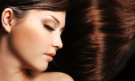 Haircut and Style with Conditioning, Keratin Treatment, or Color or Highlights at Pulse Beauty Academy
