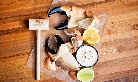 Home Delivery of Fresh Stone Crab Claws from George Stone Crab (Up to 40% Off). Four Options Available.
