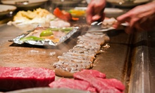 Sushi and Hibachi Cuisine for Dinner at Shogun Restaurant Japanese Steak House (Half Off). Two Options Available.