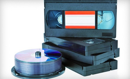 $15 for Up to Four Hours of Tape-to-DVD Transfers from Interactive Video ($49.90 Value)