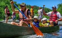 Half- or Full-Day Weekday or Weekend River Trip from River's Edge Kayak & Canoe Trips (Up to 51% Off)