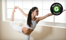 10 or 20 Yoga or Pilates Classes at Mama Nirvanas New Yoga (Up to 61% Off)