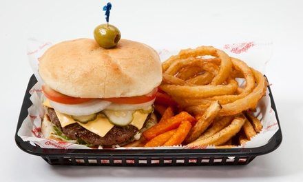 Custom Burgers at Cheeburger Cheeburger (Up to 40% Off). Two Options Available.
