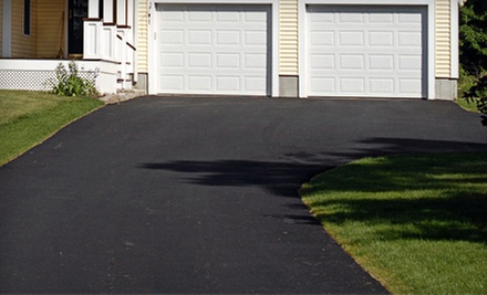 Up to 600 or 900 Square Feet of Asphalt Sealing with Stephens Concrete &amp; Asphalt Sealing, LLC. (Up to 54% Off)