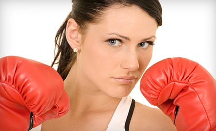 10 or 20 Group or Private Train Like A Boxer Classes with Hand Wraps at Vo2max Fitness (Up to 90% Off)