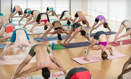 $39 for One Month of Unlimited Classes at Bikram Yoga at Brick Canvas ($150 Value)