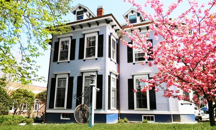 groupon daily deal - 1-Night Stay at James B. Finch Inn B&B in Newport, RI. Combine Up to Two Nights.