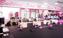 5, 10, or 20 Classes at Pink Iron Gym (Up to 73% Off)