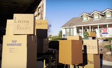 Moving Services from Here To There Movers (Half Off). Two Options Available.