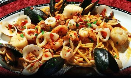 Italian Cuisine at Dinner for Two or Four or Lunch for Two at Tirami Su (Up to 45% Off)