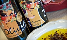 Private Tasting of Olive Oils and Balsamics for 10 or $10 for $20 Worth of Olive Oil and Balsamics at Olivia Olive Oil