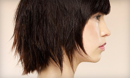 Haircut and Conditioning Treatment with Optional Color or Partial Highlights at Luxe Salon and Spa (Up to 78% Off)