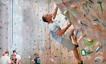 One or Three Months of Unlimited Rock Climbing with Gear Rental at Rock Spot Climbing (Up to 54% Off)