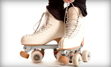 Roller-Skating with Skate Rental and Food for Two or Four at Foothill Skate Inn (Up to 54% Off)